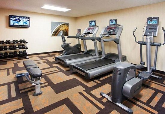 Courtyard Los Angeles Hacienda Heights/Orange County: Fitness Center