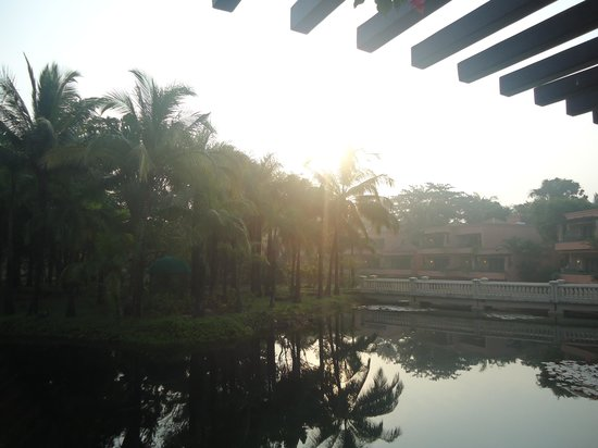 The Leela Goa : The serene view from the Balcony
