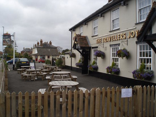 Emsworth, UK: The traveller's joy