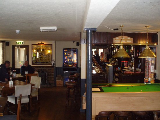 Emsworth, UK: One of 2 bar areas
