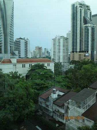 SilQ Bangkok: View from room 801