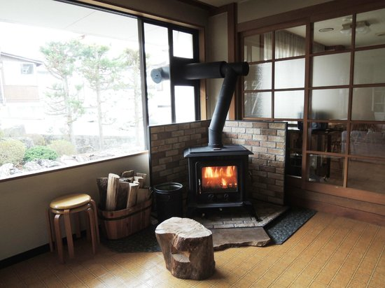 Nozawaonsen-mura, Japan: Fireplace