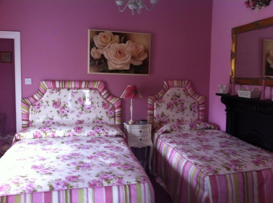 Trim, Ireland: The pink room