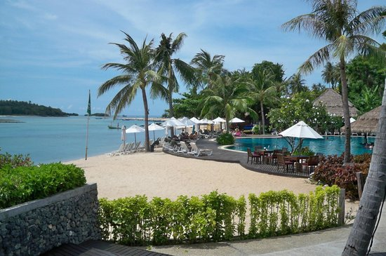 Nora Beach Resort and Spa : Breakfast on the beach