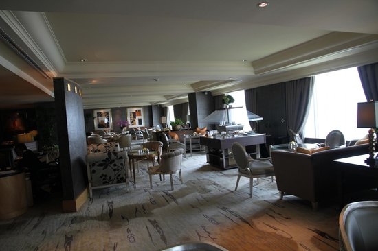 Hotel Mulia Senayan: 38th floor Executive lounge