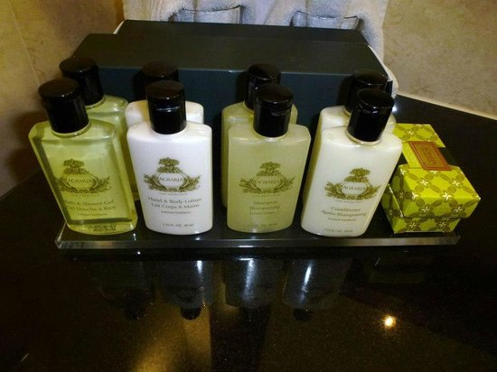 InterContinental Hotel Warsaw: Decent toiletries.