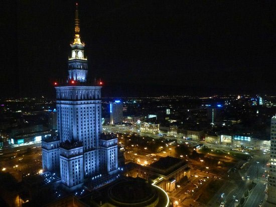 InterContinental Hotel Warsaw: Stunning view from our room.