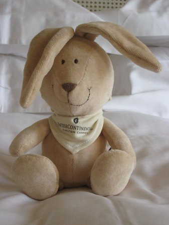 InterContinental Carlton Cannes: Hotel bunny