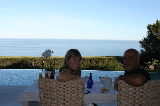 Atlantic Suites Camps Bay: !st Breakfast laid out by the pool