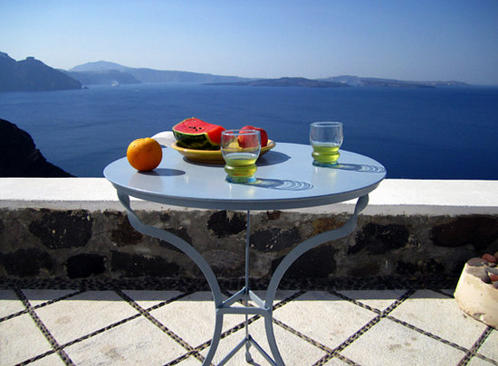 Lava Oia&#39;s: veranda house Z