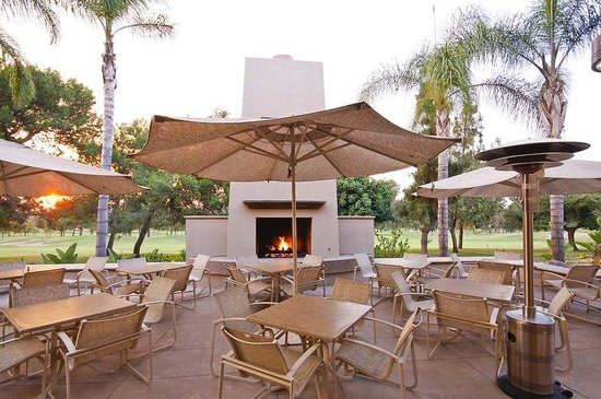 Hilton Garden Inn Los Angeles Montebello: The Terrace