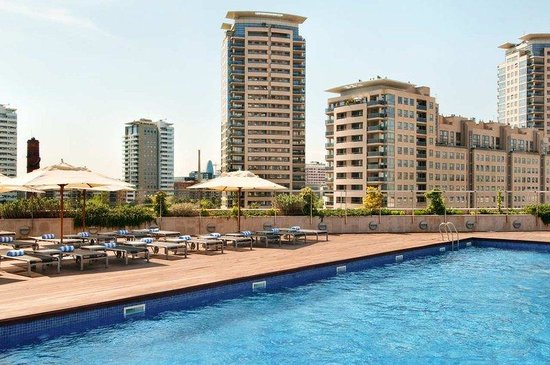 ‪‪Hilton Diagonal Mar Barcelona‬: Outdoor Pool‬