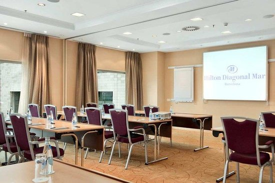 Hilton Diagonal Mar Barcelona: Mediterrani Classroom
