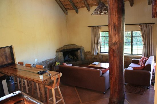 Bergville, South Africa: Living area
