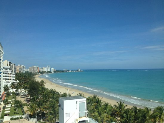 San Juan Water & Beach Club Hotel: 10 floor side view