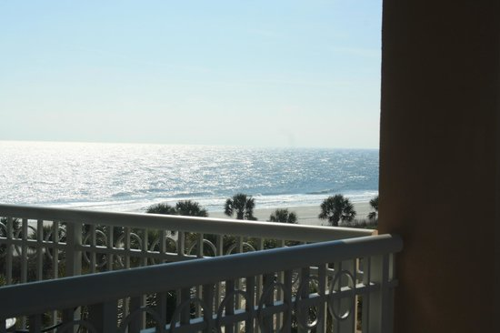 Marriott&#39;s OceanWatch Villas at Grande Dunes: View of the ocean from our room
