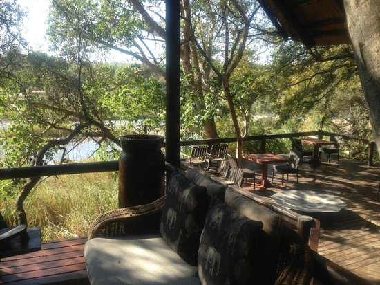 Pondoro Game Lodge: view from deck