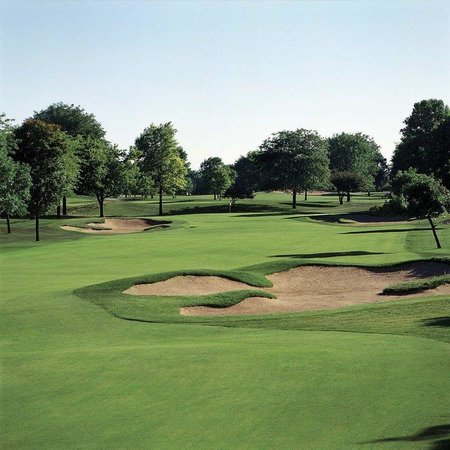 Hilton Chicago/Indian Lakes Resort: Blackhawk Trace Hole 1
