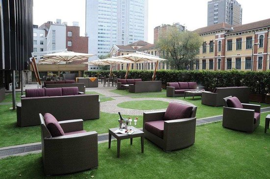 Hilton Milan: Terrace