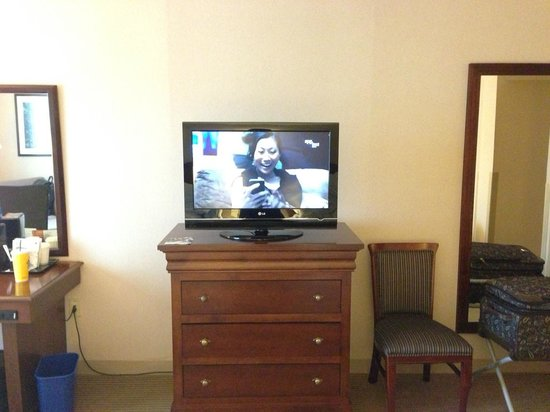 Sheraton Imperial Hotel and Convention Center: TV view