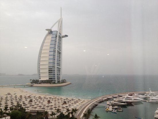 Jumeirah Beach Hotel: vue panoramique de la chambre