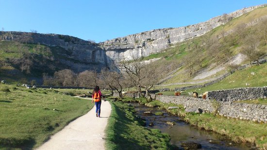Going towards Malham