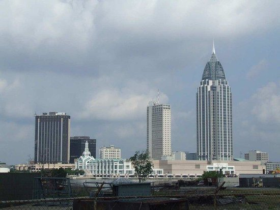 Hampton Inn Mobile I-10/Bellingrath Gardens: Mobile Alabama Skyline