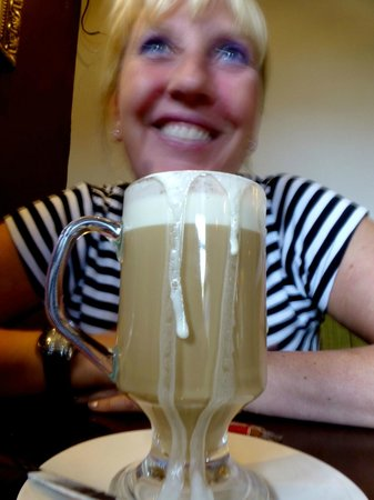 Middlewich, UK: Baileys Coffee