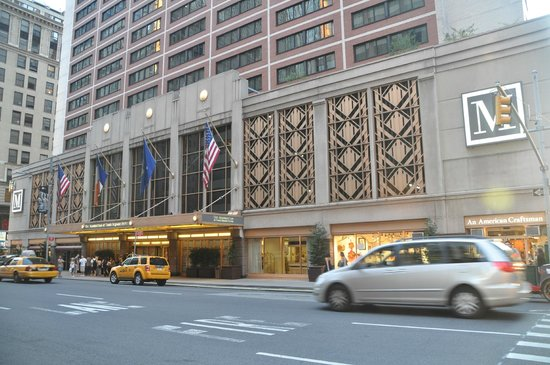 The Manhattan at Times Square Hotel: Vista del hotel