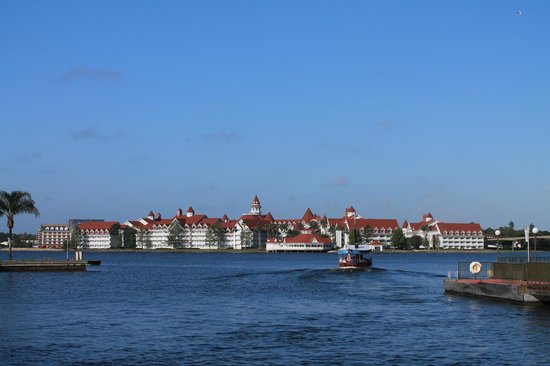 Disney's Grand Floridian Resort and Spa: view of the Grand Floridian from the Magic Kindgom