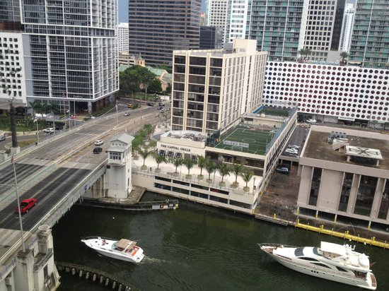 Hyatt Regency Miami: view from room