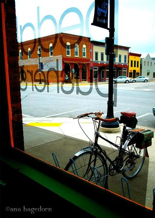 Lanesboro, MN: Looking through front window