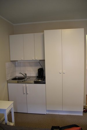 Hotel Bakfickan: Kitchen area