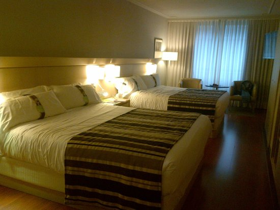 Holiday Inn Andorra : Chambre double 