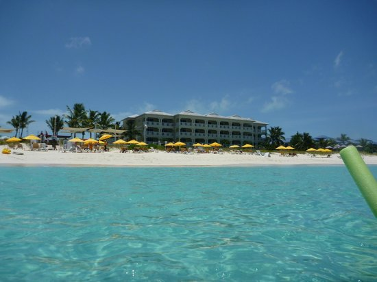 Alexandra Resort: View of resort from the water