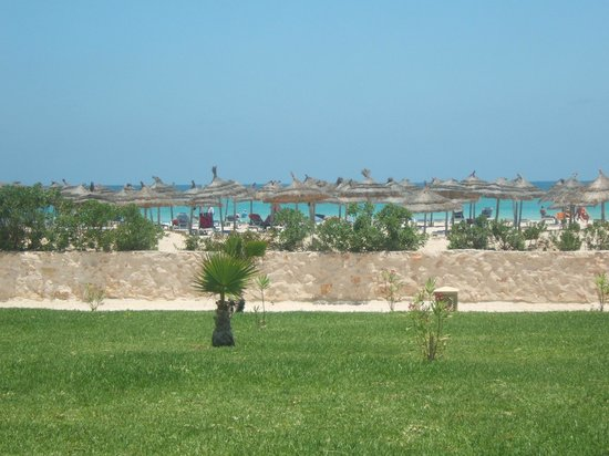 Vincci Helios Beach: View from Pool Restaurant