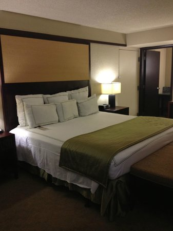 Doubletree by Hilton Orlando at SeaWorld: Massively comfy beds!