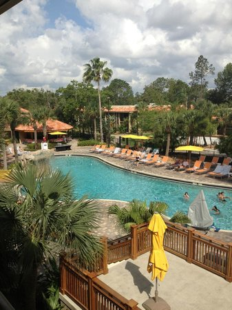 Doubletree by Hilton Orlando at SeaWorld: View from our room!