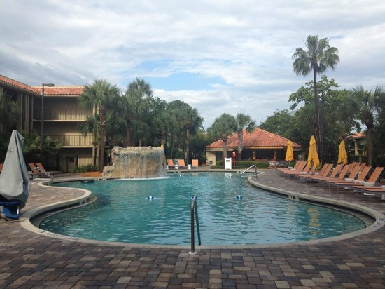 Doubletree by Hilton Orlando at SeaWorld: Swimming pool - main lagoon one