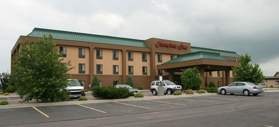 Hampton Inn Mitchell: exterier view of hotel