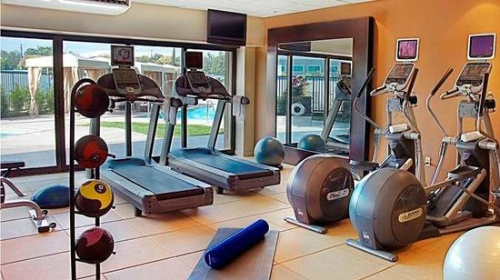 DoubleTree Monrovia hotel fitness center
