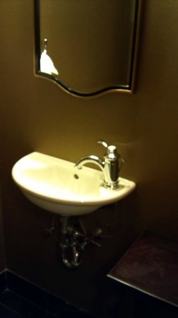 Hotel Viking: Small sink