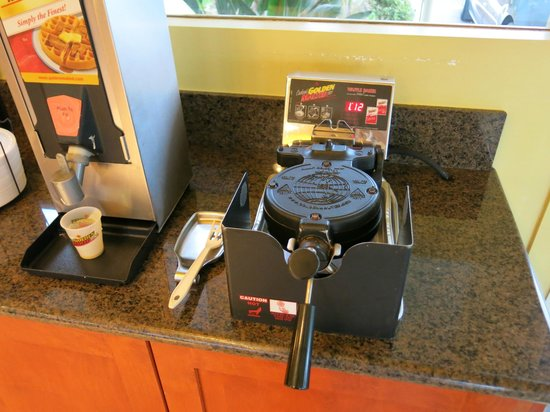 Vagabond Inn San Diego (Hotel Circle): the breakfast counter