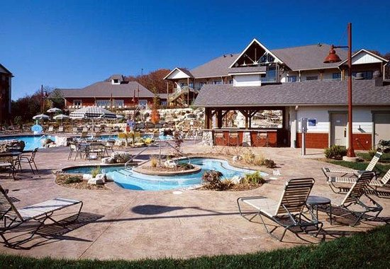Marriott&#39;s Willow Ridge Lodge: Outdoor Whirlpool