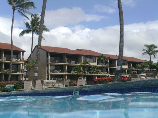 Aston at Papakea Resort: view from pool