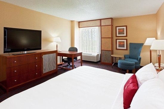 Crowne Plaza Dulles Airport Hotel: Enjoy complimentary Wi-Fi access and high def flatscreen TV
