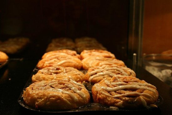Holiday Inn Express West Los Angeles: Have our signature cinnamon rolls and our new hot items