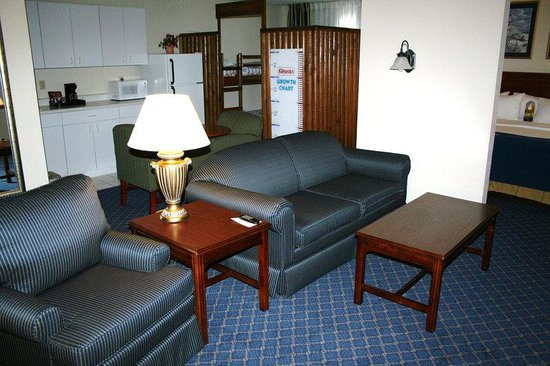 Holiday Inn Express La Porte: Our Famous Family Suite