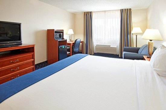 Holiday Inn Express La Porte: King Bed Guest Room