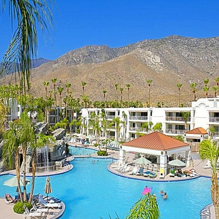 Palm Canyon Resort &amp; Spa: Property View